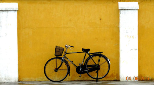 Bicycle in Pondicherry