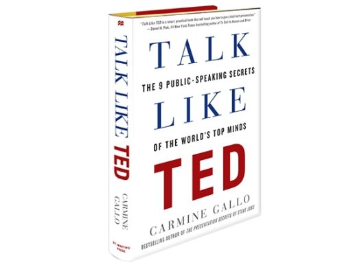 Talk Like TED book